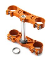 Chassis/triple clamp