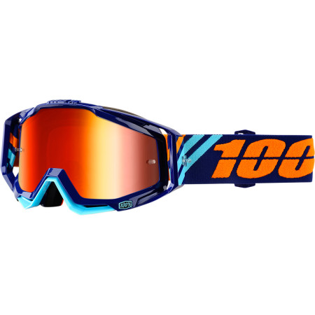 100% OKULIARE RACECRAFT CALCULUS NAVY OFFROAD