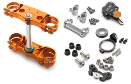 FACTORY TRIPLE CLAMP/STEERING DAMPER KIT
