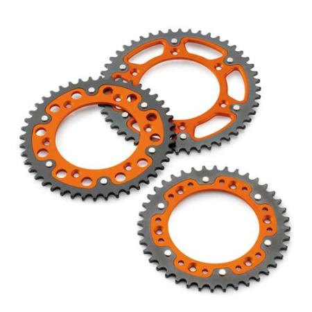 REAR SPROCKET ORANGE 48-T