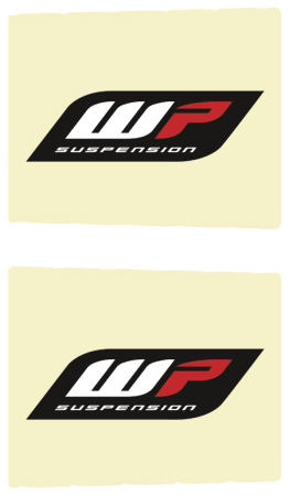 STICKER FRONT FORK-SET WP 48