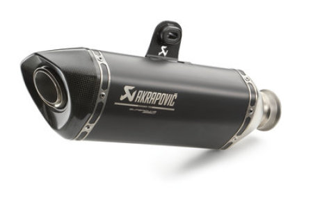 AKRAPOVIC SLIP-ON BLACK
