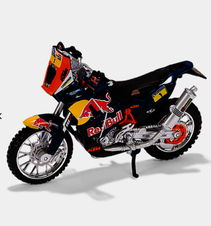 KTM Dakar Rally Bike