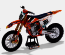 KTM 450SX-F Racing Bike #222Cairoli model